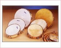 PANDERETA HONSUY 41050 20 cm. PARCHE PIEL