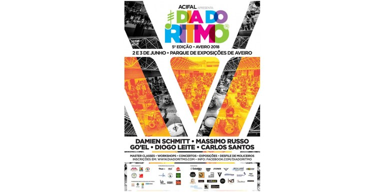 2-3 Junio-2018 Aveiro (Portugal) Dia do Ritmo